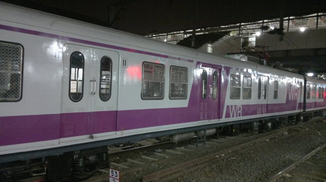 Mumbai gets India's first AC EMU train
