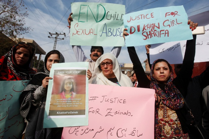 Zainab: A 8-year old girl raped and murdered. Humanity dies once again